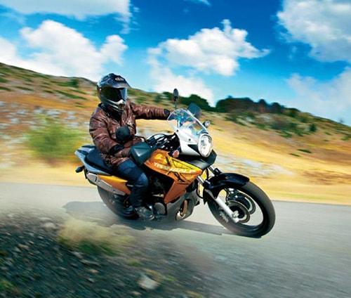 Обучение на мотоцикле